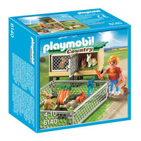Playmobil Country Farm - Rabbit Pen with Hutch 6140 - Grace Baby