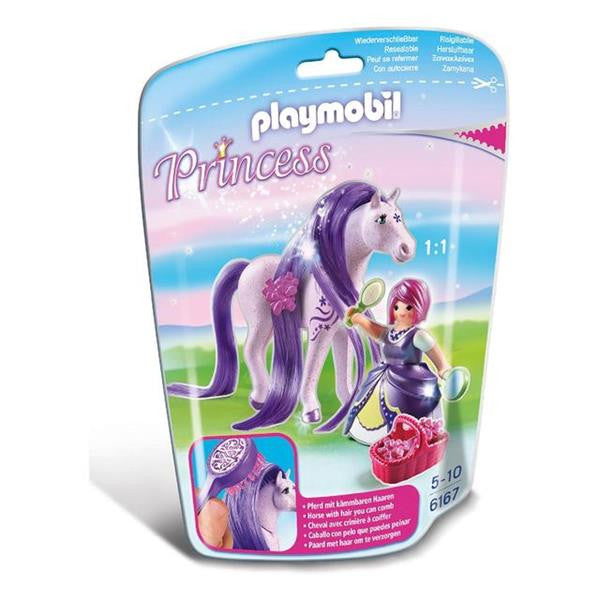 Playmobil - Princess Viola with Horse 6167 - Grace Baby