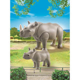 Playmobil - Rhino With Baby - 6638 - Grace Baby