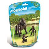Playmobil Zoo - Gorilla with Babies - 6639 - Grace Baby
