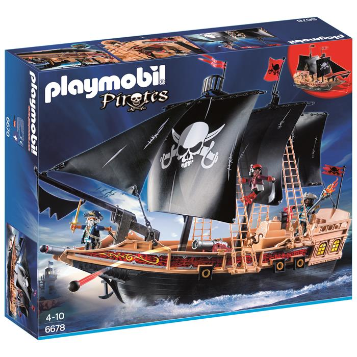 Playmobil - Pirate Raiders' Combat Ship 6678