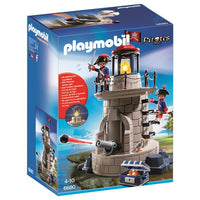 Playmobil Pirate - Soldiers' Lookout Tower with Beacon Playset - 6680 - Grace Baby