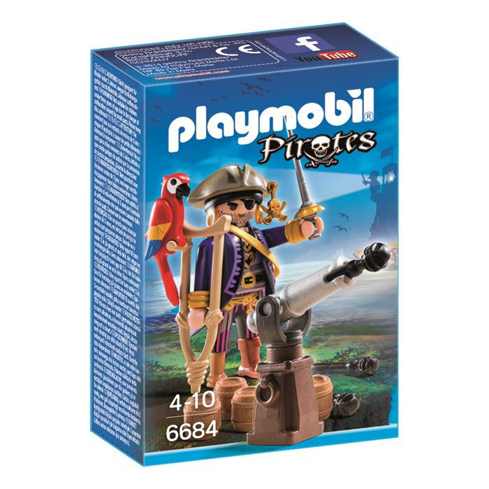 Playmobil - Pirate Captain - 6684 - Grace Baby