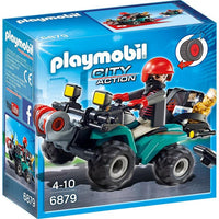 Playmobil Police - Robbers Quad with Loot 6879 - Grace Baby
