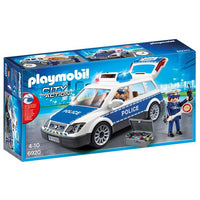 Playmobil - Police Car with Lights and Sound 6920 - Grace Baby