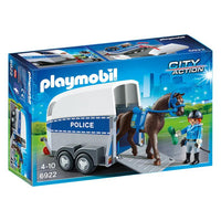 Playmobil - Police with Horse and Trailer 6922 - Grace Baby