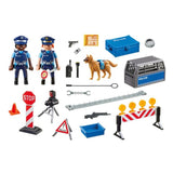 Playmobil - Police Roadblock - 6924 - Grace Baby