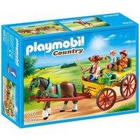Playmobil - Horse Farm - Horse-Drawn Wagon 6932 - Grace Baby