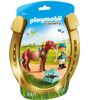 Playmobil - Groomer with Butterfly Pony 6971 - Grace Baby