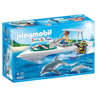 Playmobil - Cruise Liner - Diving Trip with Speedboat 6981 - Grace Baby