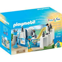 Playmobil - Aquarium - Penguin Enclosure 9062 - Grace Baby
