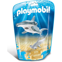Playmobil - Aquarium - Hammerhead Shark with Baby 9065 - Grace Baby