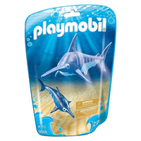 Playmobil - Aquarium - Swordfish with Baby 9068 - Grace Baby