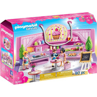 Playmobil - City Life Shopping - Cupcake Shop 9080 - Grace Baby