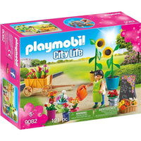 Playmobil - City Life Shopping - Florist 9082 - Grace Baby