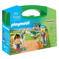Playmobil - Horse Grooming Carry Case 9100 - Grace Baby