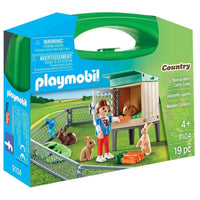 Playmobil - Bunny Barn Carry Case 9104 - Grace Baby