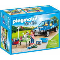 Playmobil - City Life - Mobile Pet Groomer 9278