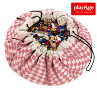 Play&Go - Toy Storage Bag - Diamond Pink - Grace Baby