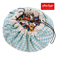 Play&Go -Toy  Storage Bag - Diamond Blue - Grace Baby