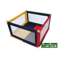 Tikk Tokk POKANO Fabric Square Playpen - Coloured - Grace Baby