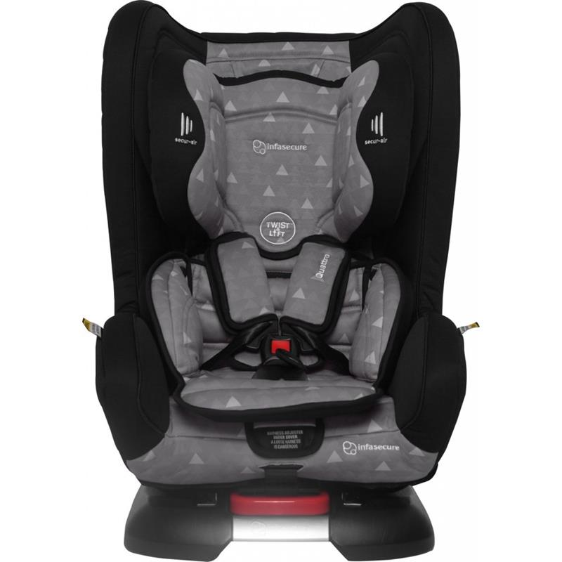 Infa Secure Quattro Treo 0-4 Convertible Car Seat - Grey - Grace Baby