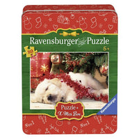 Ravensburger - Cuttily Christmas Tin Box Puzzle 80pc - Grace Baby