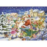 Ravensburger - Christmas Joy Tin Box Puzzle 80pc - Grace Baby