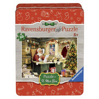 Ravensburger - Letters to Santa Tin Box Puzzle 80pc - Grace Baby