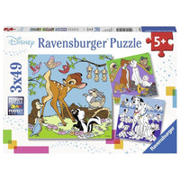 Ravensburger - Disney Princess 3 Puzzle 3x49pc - Grace Baby