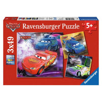 Ravensburger - Disney Cars Puzzle 3x49pc - Grace Baby