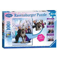Ravensburger - Disney Frozen Spot The Difference Puzzle 100pc - Grace Baby