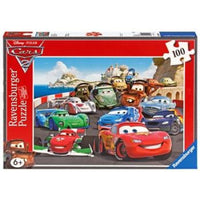 Ravensburger - Disney Cars Explosive Racing Puzzle 100pc - Grace Baby
