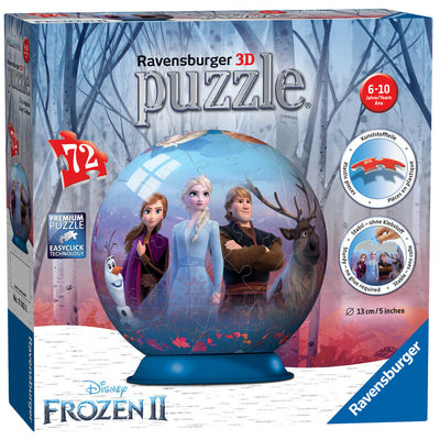 Ravensburger - Disney Frozen 2 3D Puzzle Ball 72pcs