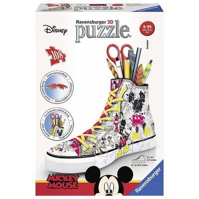 Ravensburger - Disney Mickey 3D Sneaker Puzzle 108pc