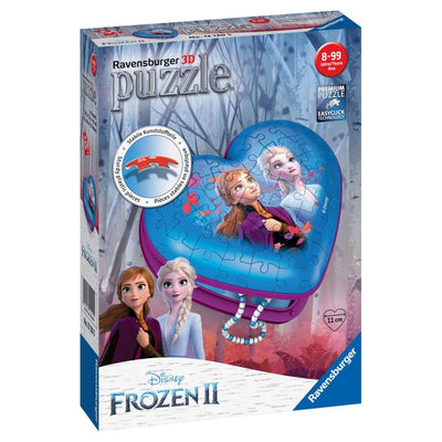 Ravensburger – Frozen 2 Heart Box 3D Heart Shape 54pc