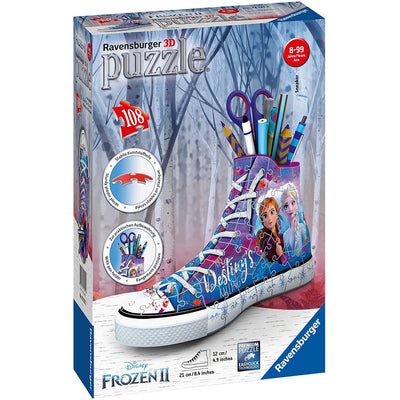 Ravensburger - Disney Frozen 2 Sneakers 108pc 3D Jigsaw Puzzle