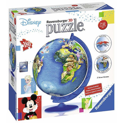 Ravensburger - Disney Globe Puzzleball 3D Puzzle 180pc