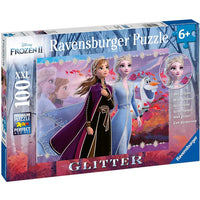 Ravensburger - Disney Frozen 2 Strong Sisters 100pcs Puzzle with Glitter