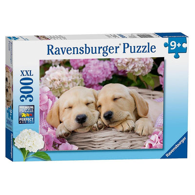 Ravensburger - Sweet Dogs in a Basket Puzzle 300pc
