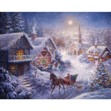 Ravensburger - Dashing through the Snow Large Format Puzzle 300pc - Grace Baby