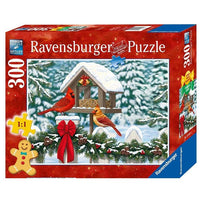 Ravensburger - Cardinals at Christmas Large Format Puzzle 300pc - Grace Baby