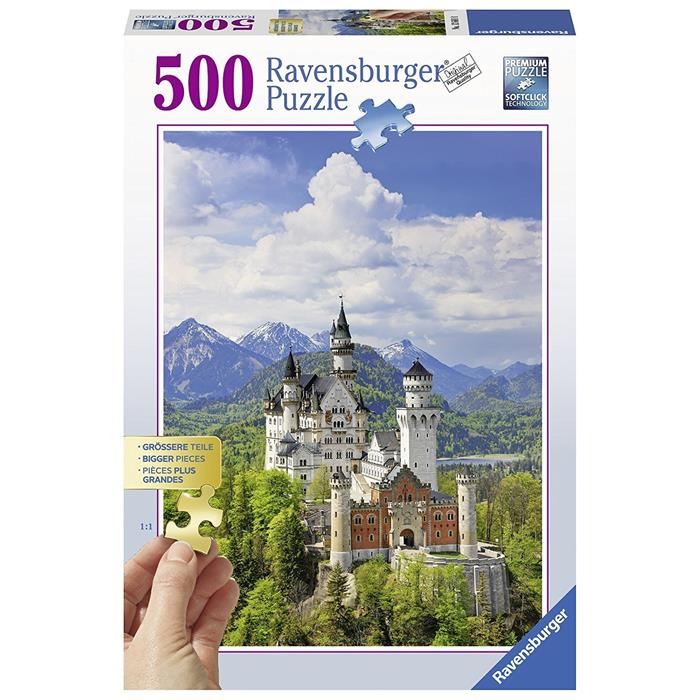Ravensburger - Neuschwanstein Castle Puzzle 500pc - Grace Baby