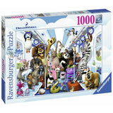 Ravensburger - Disney DreamWorks Family on Tour Puzzle 1000pc