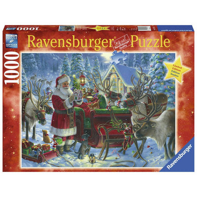 Ravensburger - Packing the Sleigh Puzzle 1000pc