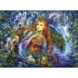 Ravensburger - Fairy of the Forest Puzzle 500pc - Grace Baby