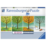Ravensburger - Four Seasons Panorama Puzzle 500pc - Grace Baby
