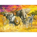 Ravensburger - African Animals Puzzle 500pc - Grace Baby