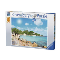 Ravensburger - Beach In Sardinia Puzzle 500pc - Grace Baby