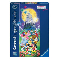 Ravensburger - Disney Characters Vertical Panorama Puzzle 1000pc - Grace Baby